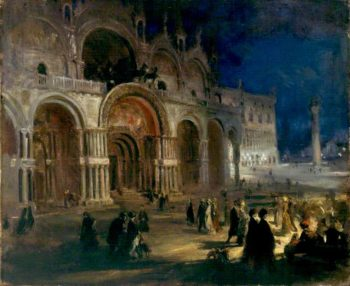 St Marks by Moonlight