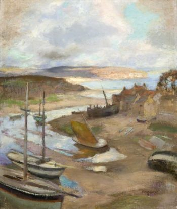 The Estuary | Charles Hodge Mackie | oil painting