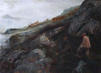Deer Hunt | John Sydney Steel | oil painting