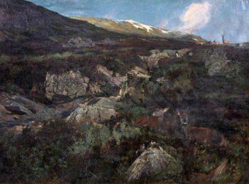 Hard Weather | John Sydney Steel | oil painting