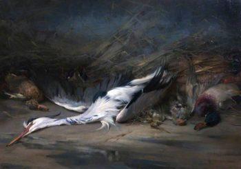 Spoil of the Marshes | John Sydney Steel | oil painting