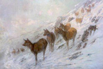 Wintry Weather | John Sydney Steel | oil painting