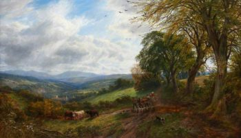 Borderland | Arthur Perigal the Younger | oil painting
