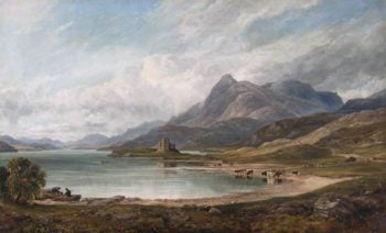 Loch Assynt | Arthur Perigal the Younger | oil painting