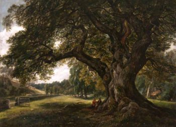 The Capon Tree | Arthur Perigal the Younger | oil painting