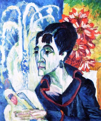 Head of Erna | Ernst Ludwig Kirchner | oil painting