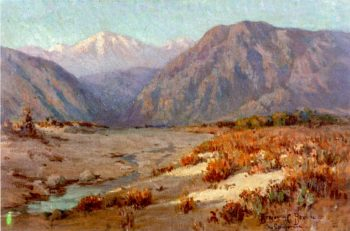 Old Baldy and San Gabriel | Benjamin Chambers Brown | oil painting