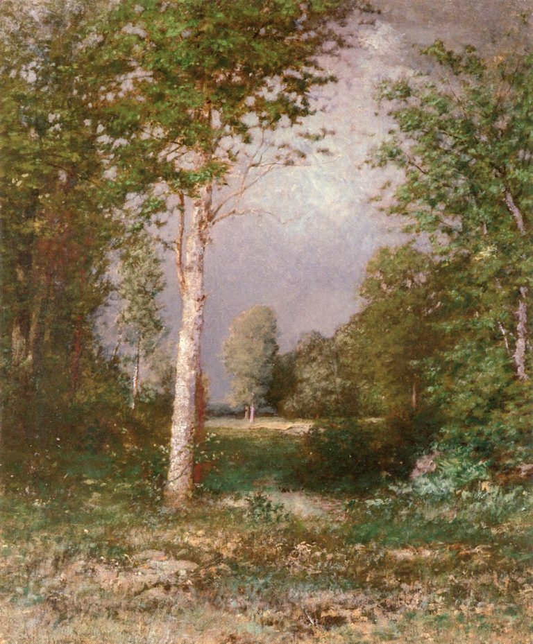 A Forest Glade | Alexander Helwig Wyant | oil painting