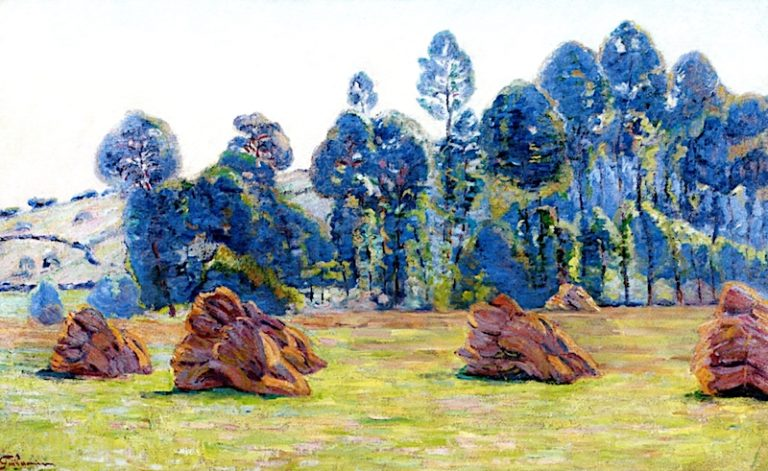 Breuillet | Armand Guillaumin | oil painting