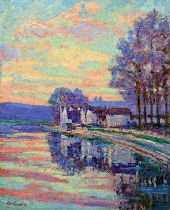 The Seine at Samois | Armand Guillaumin | oil painting