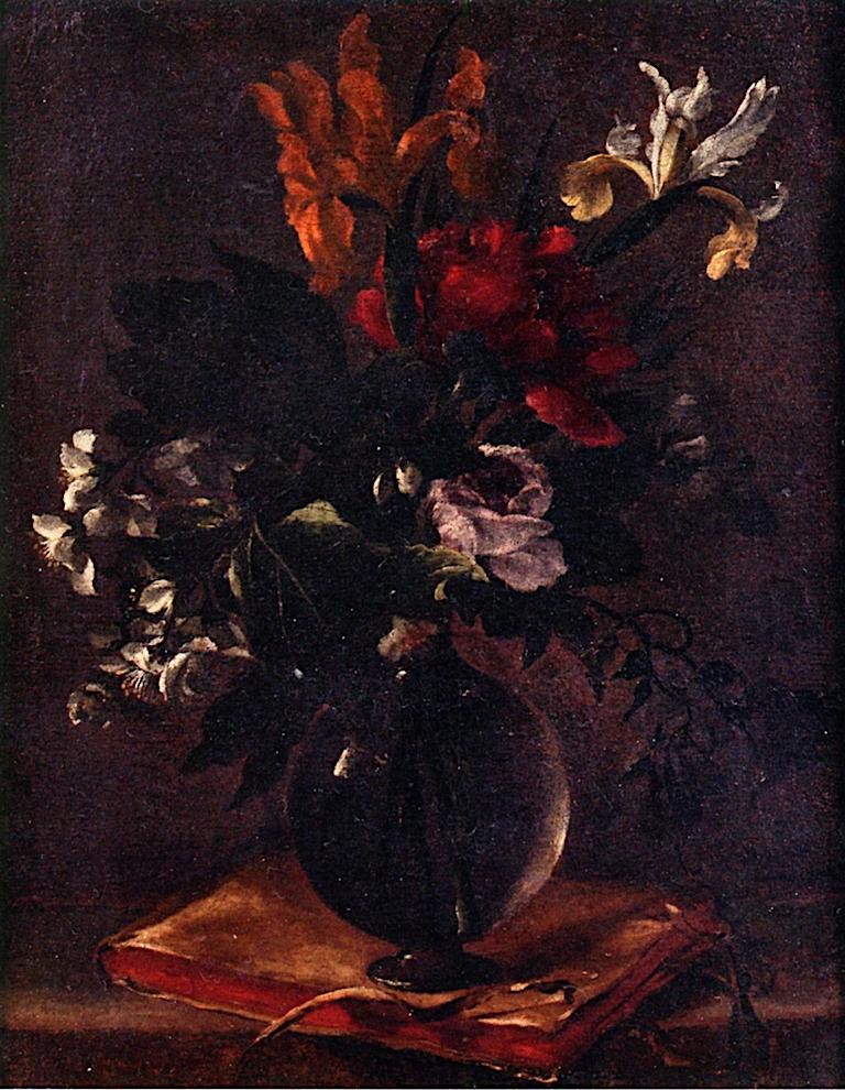 Floral Still Life   Bartolome Esteban Murillo   oil painting