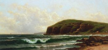 A Fair Day on the Coast | Alfred Thompson Bricher | oil painting