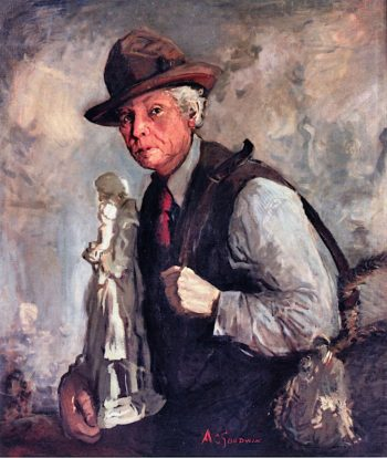 Statue Vendor | Arthur Clifton Goodwin | oil painting
