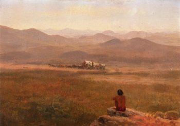 The Lookout | Albert Bierstadt | oil painting