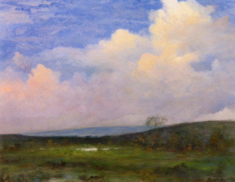 Clouds over California | Albert Bierstadt | oil painting
