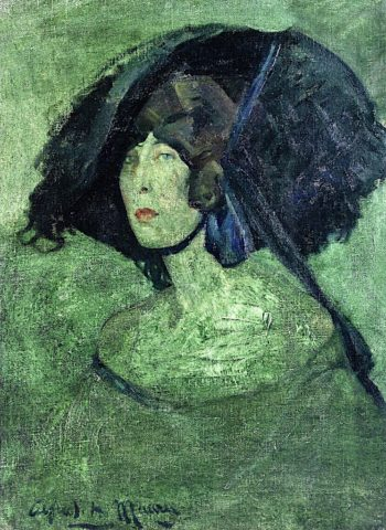 Green Lady | Alfred Henry Maurer | oil painting