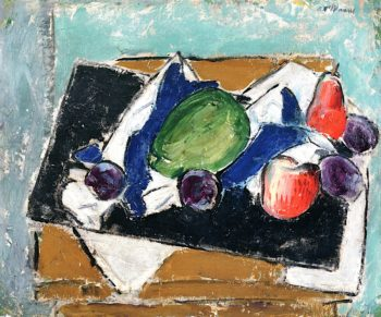 Plums and Pears | Alfred Henry Maurer | oil painting