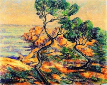 Agay | Armand Guillaumin | oil painting