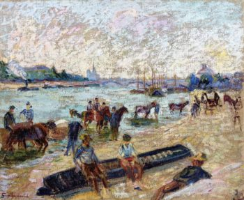 The Quay de Bercy | Armand Guillaumin | oil painting