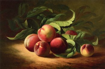 Peach Branch | Andrew J. H. Way | oil painting