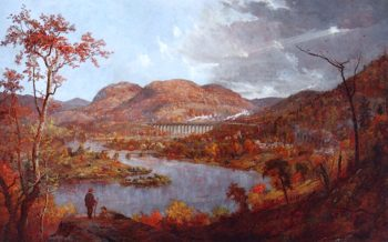Starrucca Viaduct | Jasper Francis Cropsey | oil painting
