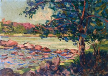 The Creuse at Genetin | Armand Guillaumin | oil painting