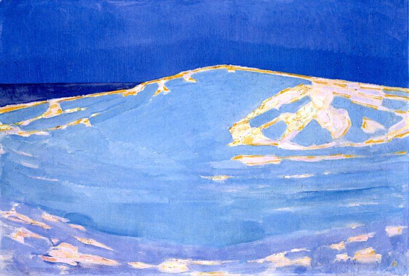 Dunes at Domburg | Piet Mondriaan | oil painting