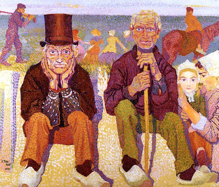 Doorkeepers of the Sea | Jan Toorop | oil painting
