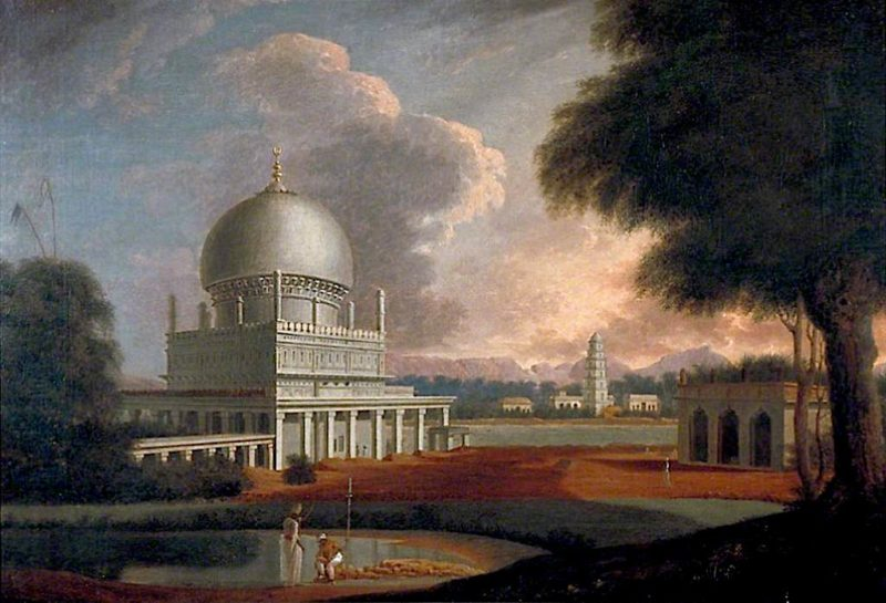 The Tomb of Nathar Shah near Trichinopoly | Francis Swain Ward | oil painting