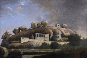 Virra Malli | Francis Swain Ward | oil painting