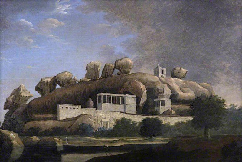 Virra Malli   Francis Swain Ward   oil painting