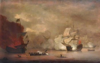 Action between HMS Mary Rose and Seven Algerines