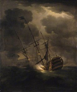 Loss of HMS Victory
