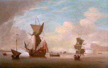 Seascape | Peter Monamy | oil painting