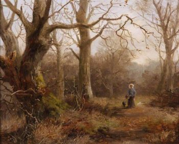 Woodland Scene | Henry William Adams | oil painting