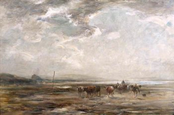 Driving the Herd | William Darling McKay | oil painting