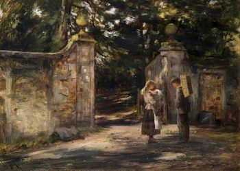 The Old Gateway | William Darling McKay | oil painting