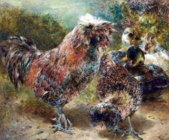 Distinguished Foreigners (Houdani Fowl) | William Huggins | oil painting