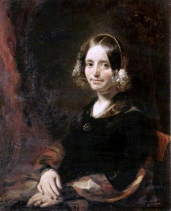 Mrs Coupland | William Huggins | oil painting