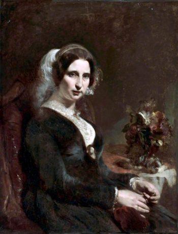 Mrs David Davies | William Huggins | oil painting