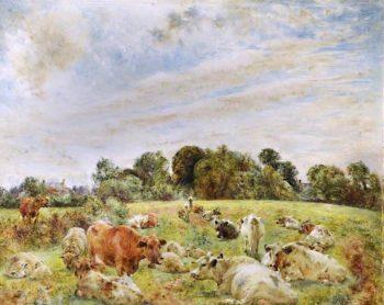 Near Moreton | William Huggins | oil painting