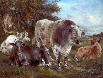 No Thoroughfare | William Huggins | oil painting