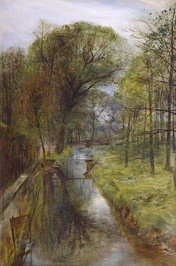 Scene near Croxteth Hall | William Huggins | oil painting