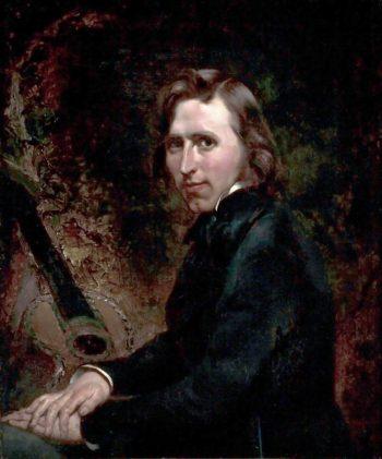 Self Portrait | William Huggins | oil painting