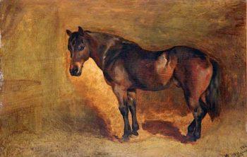 Waiting   William Huggins   oil painting