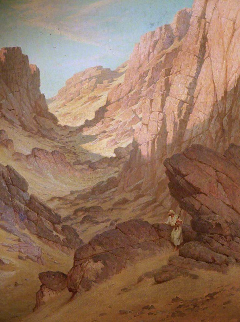 Arab Rifleman   Robert George Talbot Kelly   oil painting