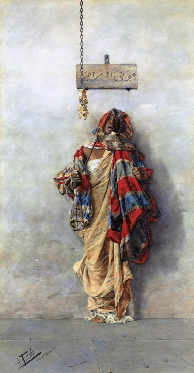 A Thief   Antonio Maria Fabres y Costa   oil painting