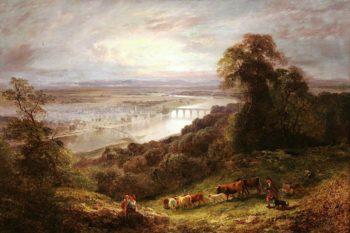 The Fair City of Perth | Edward Hargitt | oil painting
