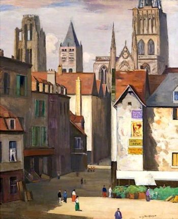 A Street in Rouen | William York MacGregor | oil painting