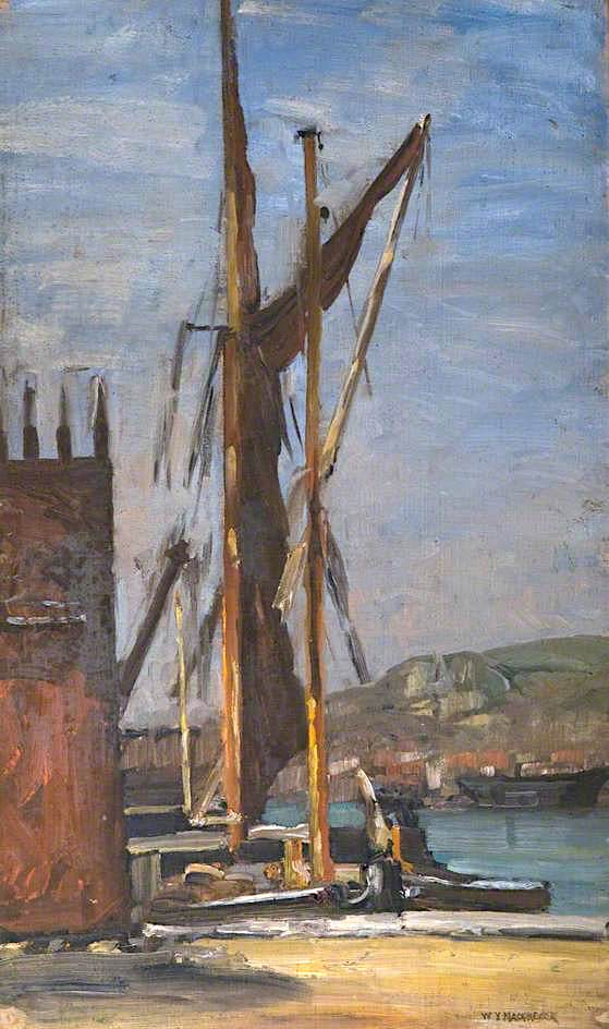 At Dover | William York MacGregor | oil painting
